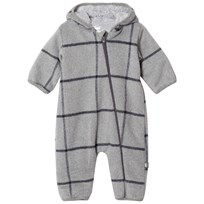 Hust&Claire Onesie Light Grey Melange Light Grey Melange