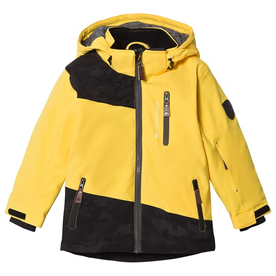 Lindberg Brighton Jacket Yellow Yellow