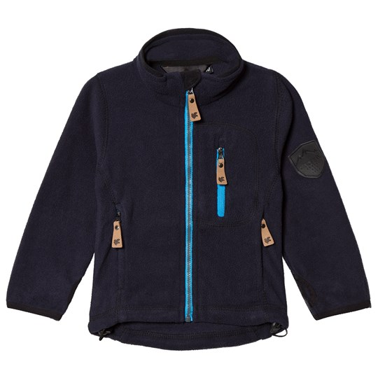 Lindberg Bolton Fleece Jacket Carbon Blue Carbon Blue