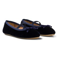 Flattered Ninette Midnight Blue Velvet Blue