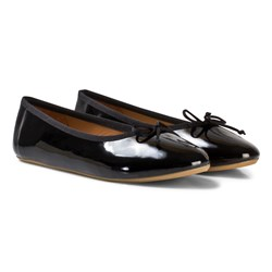 Flattered Ninette Black Patent