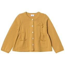 Hust&Claire Knit Cardigan Curry