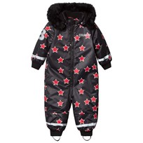The BRAND Coverall Red Allstar With Black Fur Red Allstar With Red Fur