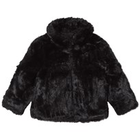 The BRAND Faux Fur Jacket Black Black