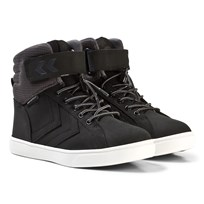 Hummel Splash Mid Jr Black Black