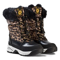 Hummel Snow Boot Leo Jr Black Black