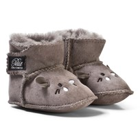 Petit by Sofie Schnoor Boot Baby Mouse Grey Musta