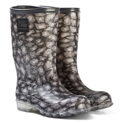 Petit by Sofie Schnoor Lined Rubber Boot Leo Glitter