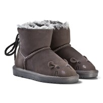 Petit by Sofie Schnoor Boot Teddy Mouse Dark Grey Dark grey