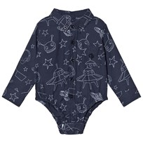 Andy & Evan Navy Galaxy Print Shirtzie NVE NVE