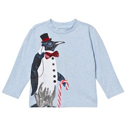 Andy & Evan Holiday Penguin Tee