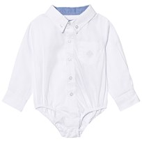 Andy & Evan White Oxford Button Down Shirtzie White