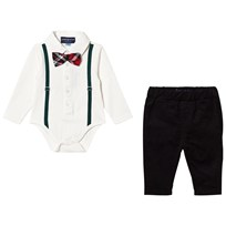Andy & Evan Holiday Polo Shirtzie Set WHE WHE
