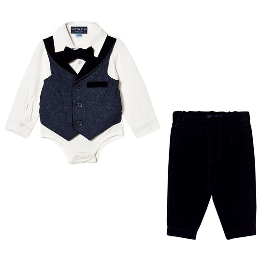 Andy & Evan Navy Playsuit NVO NVO