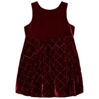 Andy & Evan Red Maroon Quilted Sleeveless Dress RDD RDD