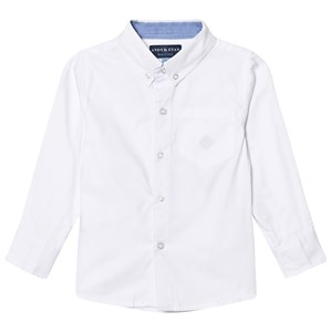 Image of Andy & Evan White Oxford Button Down Shirt 11-12 years (3125331387)