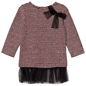 Image of Andy & Evan Maroon Sequins Sweater Stripe Tunic 2 years (2743780945)
