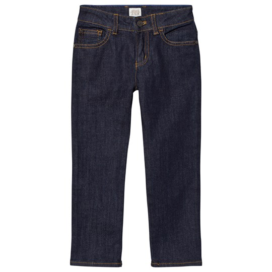 Emporio Armani Indigo Raw Denim Regular Fit Jeans 1500