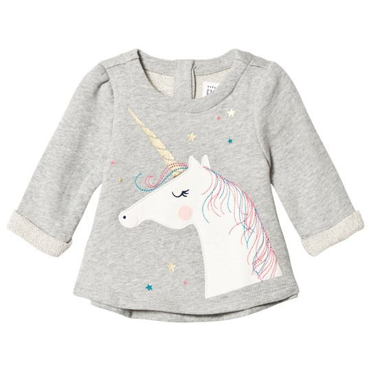 Gap Unicorn Sweater Light Heather Grey Light Heather Grey B08