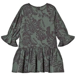 How To Kiss A Frog Margot Dress Leaf