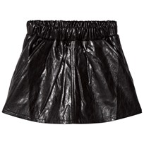 How To Kiss A Frog Peach Skirt Leather Black Leather Blk