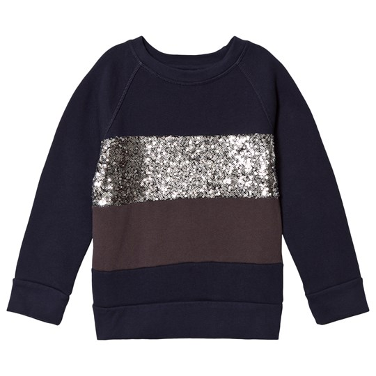 How To Kiss A Frog Siv Jumper Navy/Silver/Dark Grey Navy/Silver/Dk Grey