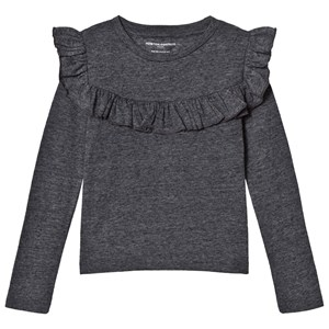 Image of How To Kiss A Frog Frill Tee Grey 5 år (2964313825)