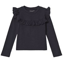 How To Kiss A Frog Frill Jumper  Navy Navy