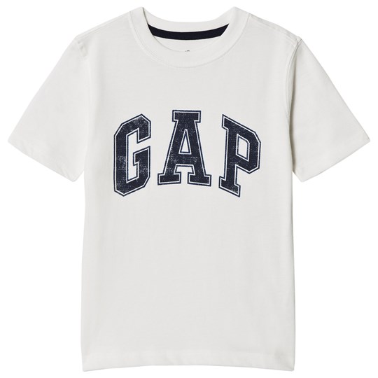 GAP Branded Print Tee New Off White NEW OFF WHITE