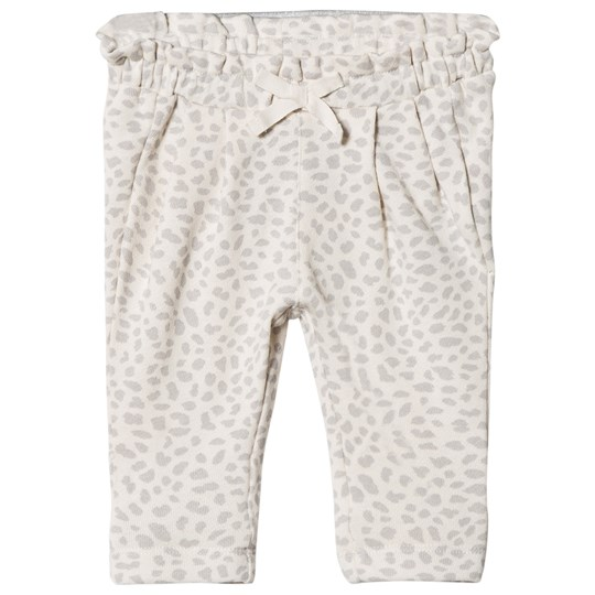 Gap Print Pleat Pants Leopard Leopard print