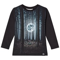 Molo Rexol Long Sleeve Tee Moon in the Woods Moon in the woods