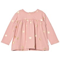 The Little Tailor Pink Baby Swing Long Sleeve Jersey Top Pale Pink