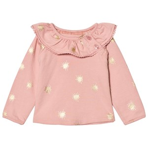 Image of The Little Tailor Pink Baby Slim Collar Sweater 9 months (2743774795)