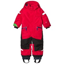 Didriksons Ale Kids Coverall Red Red