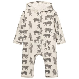 Image of The Little Tailor Cream Bear Baby Onesie 18 months (2743706357)