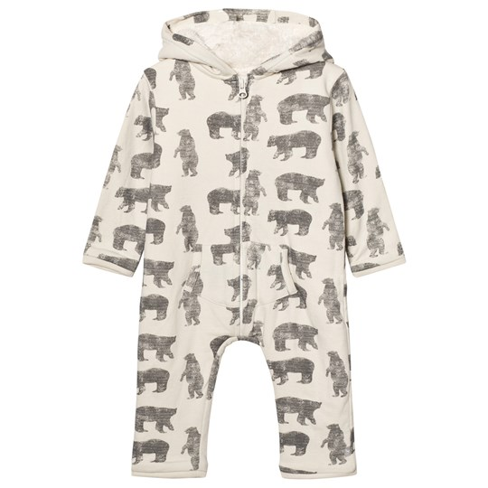 The Little Tailor Cream Bear Baby Onesie Cream