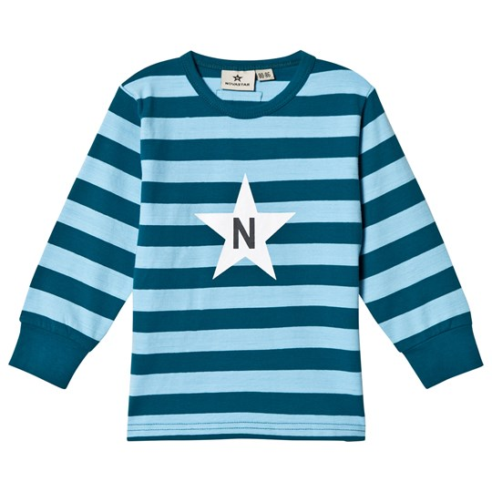 Nova Star Stripe T Jade Green Petrol/blue
