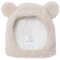 Il Gufo Beige Teddy Fleece Hat 121
