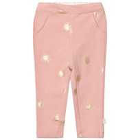 The Little Tailor Pink Baby Girls Leggings Pale Pink