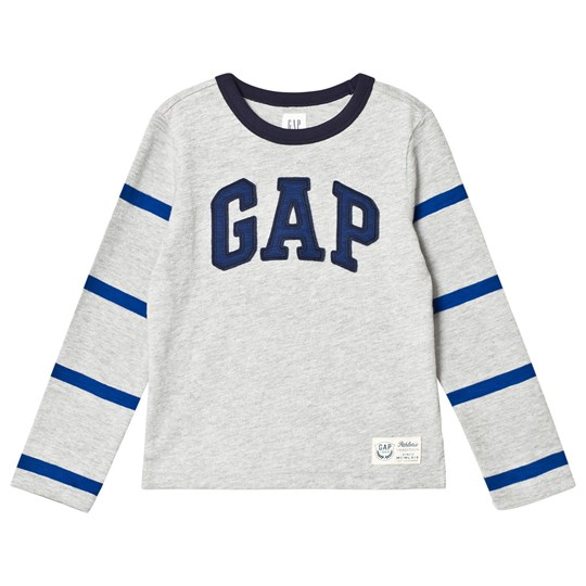 Gap Athletic Logo Football Tee New Heather Grey Heather Grey