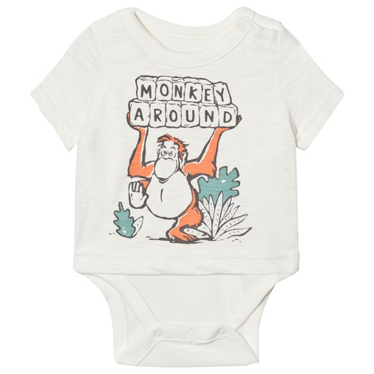 GAP Disney Graphic Baby Body New Off White NEW OFF WHITE