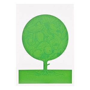 Image of Acne JR Family Tree Poster Green (3125340315)