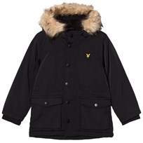 Lyle & Scott True Black Micro Fleece Lined Jacket TRUE BLACK