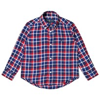 Ralph Lauren Navy/Red Plaid Shirt 001