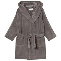 Calvin Klein Grey Branded Micro Cotton Robe 004