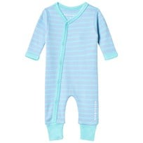 Geggamoja Premature Baby One-Piece Light Blue/Turquoise L.blue/turquoise