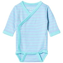 Geggamoja Premature Baby Body Light Blue/Turquoise L.blue/turquoise