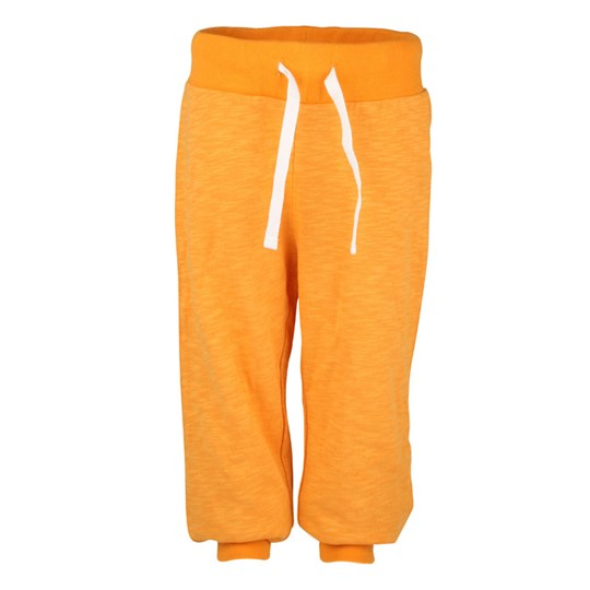 Mini Rodini French Terry Sweatpants Orange Orange