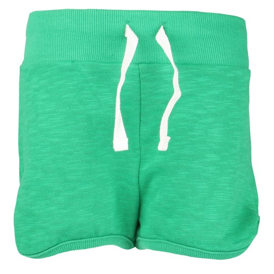 Mini Rodini French Terry Sweatshorts Green Green