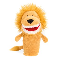 Jellycat Toothy Lion Hand Puppet
